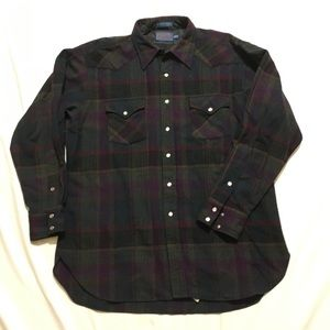 Vintage Pendleton Flannel shirt sz XL Tall